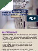 Aula - Origem Da Biblioteconomia