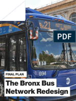 The Bronx Bus Network Redesign