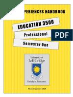 ed 3500 handbook