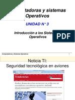 U4 - Introducción a Los Sistemas Operativos