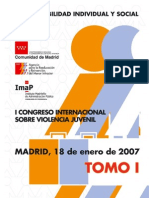 i Congreso Internacional Violencia Juvenil Tomo1