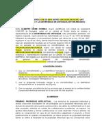Acta Terminacion Mutuo Acuerdo Plantilla