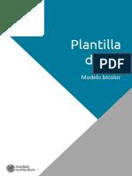 Guia Plantilla Curriculum Bicolor