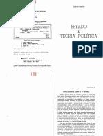 Estado e Teoria Política