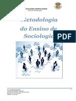 1 - Apostila - Metodologia de Sociologia