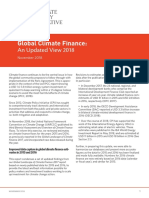 Global Climate Finance an Updated View 2018