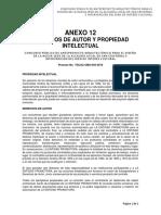 ANEXO 12 - Derechos de Autor y Propiedad Intelectual