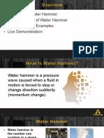 Armstrong - Water Hammer Hazards