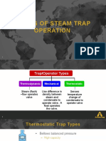 Armstrong - Operating Characteristics of Different Steam Traps