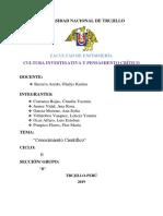 Informe-Conocimiento Cientifico (GRUPAL)