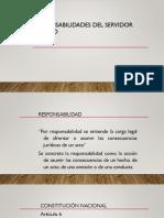 Responsabilidades Del Servidor Público