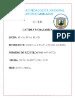Guia de Catedra de la Morazanica