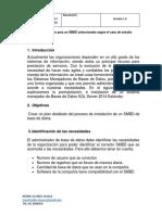 AA2-Ev3-Plan de Instalación Para El SMBD Seleccionado Según El Caso de Estudio