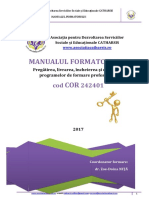 Manualul Formatorului