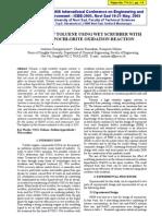 3.Treatment of Toluene Using Wet Scrubber With Sodium Hypochrolite Oxidation Reaction