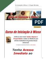 @Fantástico Curso de Iniciação à Wicca @ 4 Super Brindes
