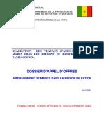 DAO Mares Fatick lancé le 22 04 09