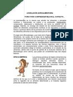 Legislación Agroalimentaria
