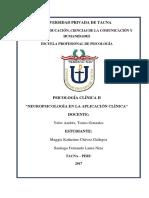 Neuropsicologia en La Clinica 1