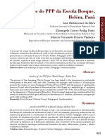 Análise do PPP da Escola Bosque