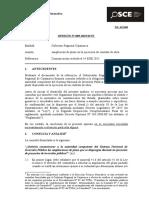 085-15 - Pre - Gob. Reg. Cajamarca - Comunicación a Snip-Vf