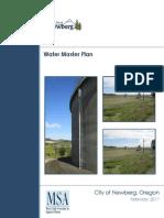 Newberg Water Master Plan February 2017