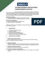 Acta de Reunión Del Comité de Seguridad y Salud en El Trabajo-Abri2019