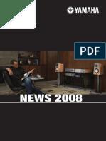 yamaha 2008 news