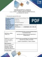 Anexo 2. Fase 1 - Cuadro Análisis de Artículo Referente a La Industria de Cárnicos.