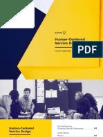 Human Centered Service Design
