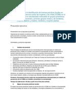 Propuesta Técnica Consultoría Para La Identificación de Buenas Prácticas Locales en Prevención de La Violencia Contra Las Mujeres y Las Niñas