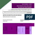 Formato Matriz de Riesgos - Unidad 2 Evidencia 2 .