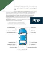 El Sistema de Alumbrado Permite Ejercer La Conducción Con Seguridad Al Aportar La Iluminación Necesaria Para Ver y Ser Vistos Con Claridad