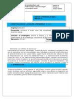 Guía Español 6to II