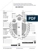 EC01 Mid-term Test_Answer Sheet