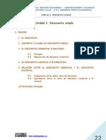 UNIDAD 2  DECUENTO SIMPLE (GESTIÓN FINANCIERA)