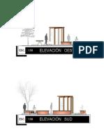 Elevaciones de La Plaza ESFM