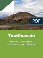 Teotihuacán. Breves referencias culturales y su población