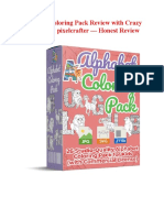 Alphabet Coloring Pack Review