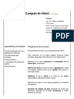 Hoja de Impresión de Lenguas de Gato (Langues Du Chats)(1)