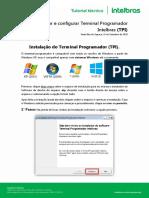 Como Instalar o Terminal Programador Intelbras Tpi