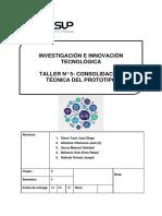 5.- Taller N° 5_ Consolidación Técnica del Prototipo