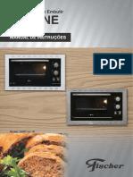 Manual Instrucoes Fornos Embutir Fit Fischer