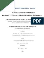 PROPIEDADES PSICOMÉTRICAS DE LA ESCALA DE FELICIDAD DE LIMA EN DOCENTES DE LAS INSTITUCIONES EDUCATIVAS ESTATALES DE NUEVO CHIMBOTE – 2019