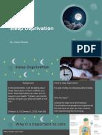 Sleep Deprivation by Alexa Olmedo