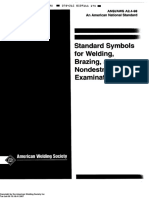 Aws a2.4 Sysmbol for Welding Ndt