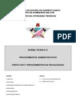 NT 01  PARTE 5 Procedimentos Administrativos para Fiscalização das Edificações e Áreas de Risco.pdf