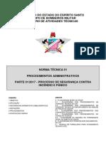 NT 01 - Normas de Segurança