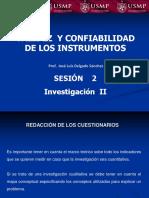 Sesión 2 Validez y Confiabilidad de Los Instrumentos.pptx