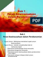 Bab 1 Peran Kewirausahaan dalam Perekonomian (1).ppt